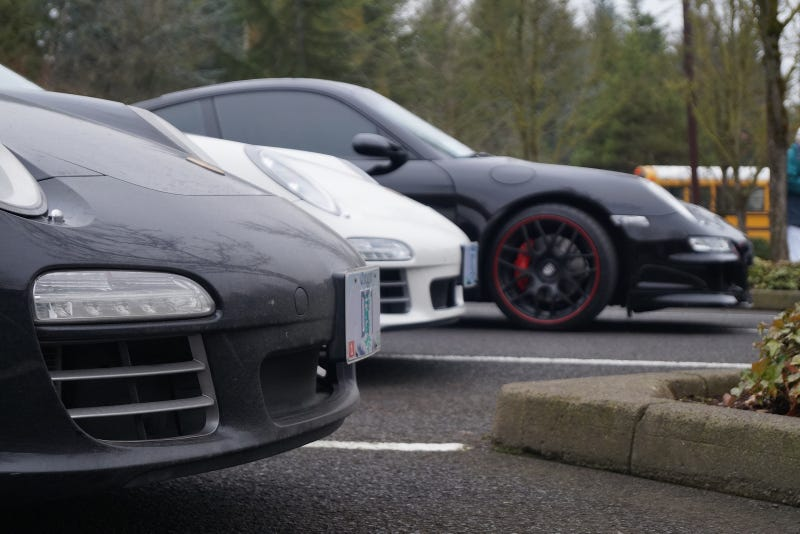 Cars and Coffee Portland 12/28/13