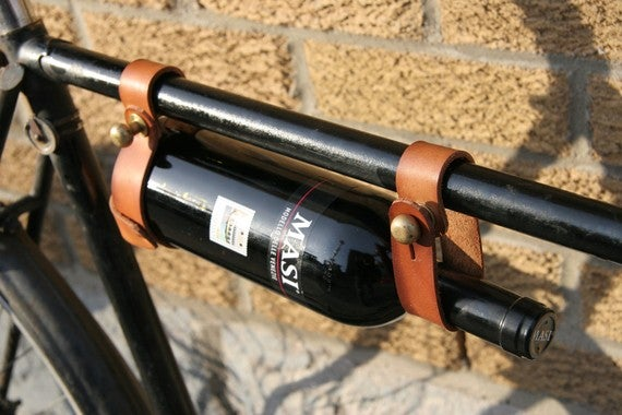 Wine Racks On Bicycles Are Great Ideas