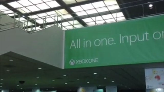 There is Xbox One...Marketing At E3