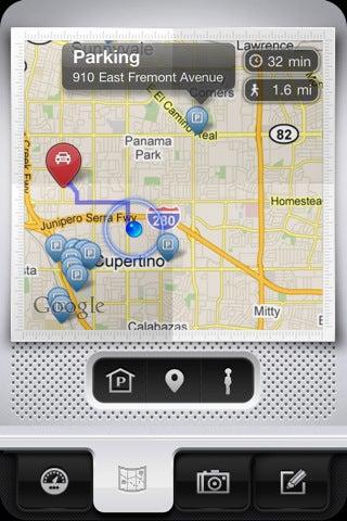 Parkbud App Gallery