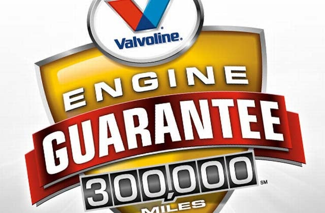 Valvoline 300,000 Mile Engine Guarantee: Some Conditions Apply