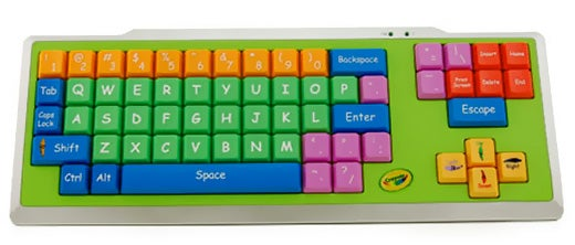 Crayola EZ Type Keyboard: When Normal Keyboards Are Just Too Confusing