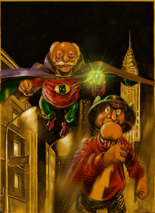 What If The Muppets Existed In The DC And Marvel Universes?