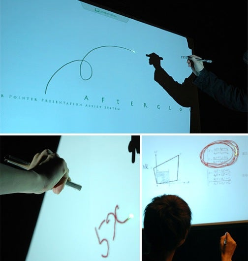 Afterglow Allows You To Draw On Your PowerPoint Presentation With a Laser Pointer