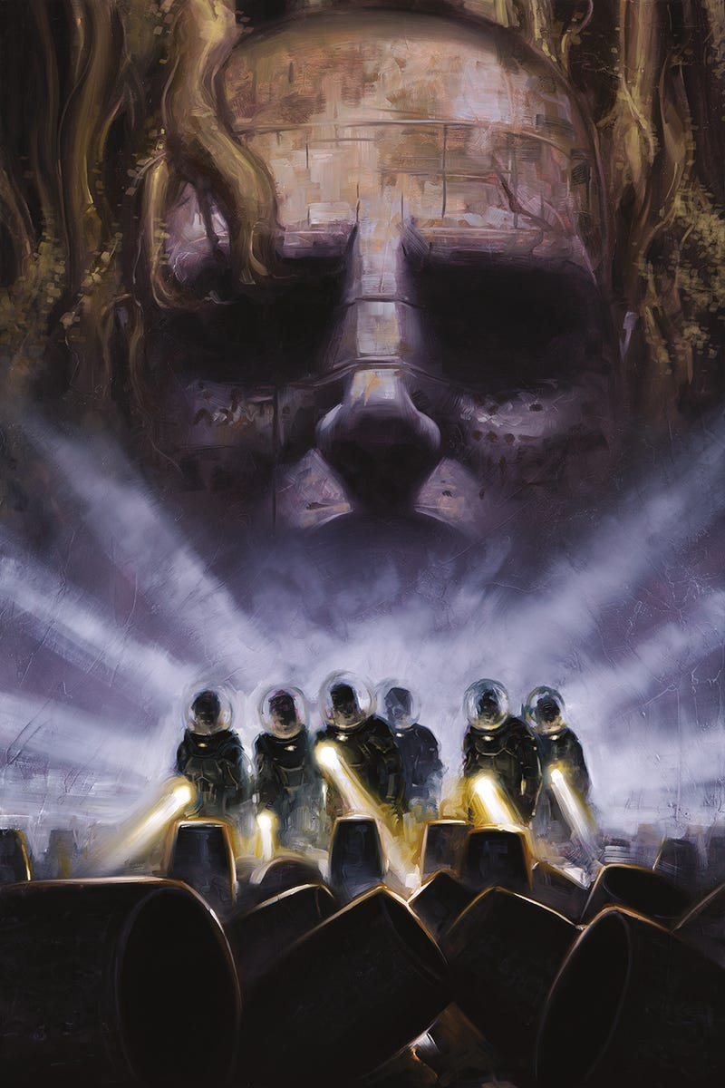 Cover Reveal: The dark splendor of the new Alien universe comics