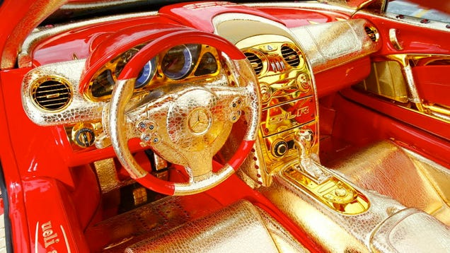 you can own the world 39 s gaudiest car for just 11 million. Black Bedroom Furniture Sets. Home Design Ideas