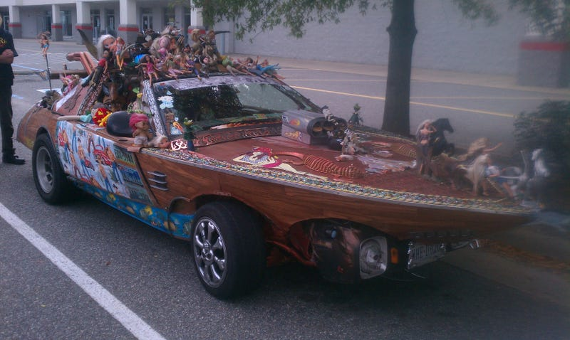 Saw this Art Car in Newport News this weekend