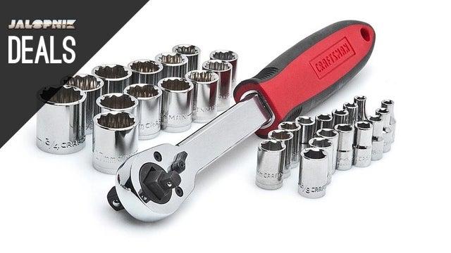$10 Socket Wrench Set, FM Transmitter, $160 GoPro [Deals]