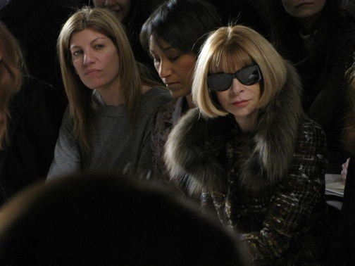 The Obama Social Secretary Cuddles with Anna Wintour