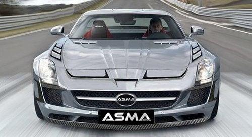 ASMA Transforms An SLS AMG Into A Decepticon