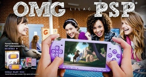 Are You Bad Enough To Buy A Hannah Montana PSP?