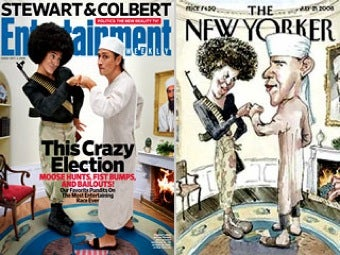 Entertainment Weekly Parodies Infamous New Yorker Cover
