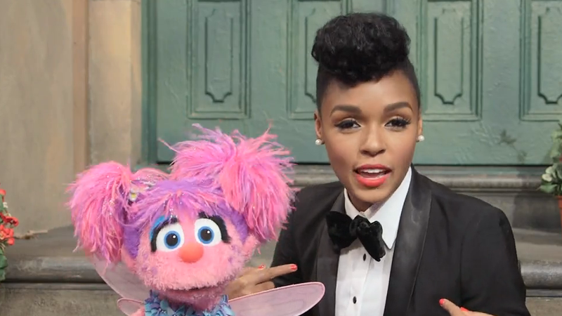 Janelle Monáe Is in Her Element on Sesame Street