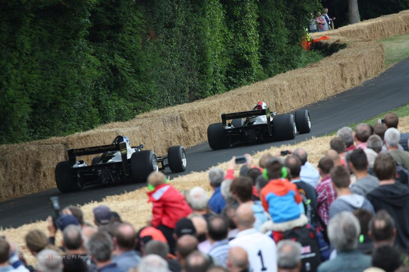 Formula 1 at the 2014 Goodwood Festival of Speed - In Pictures