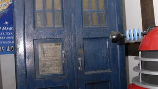 Jon Pertwee's TARDIS Is Looking Much The Worse For Wear