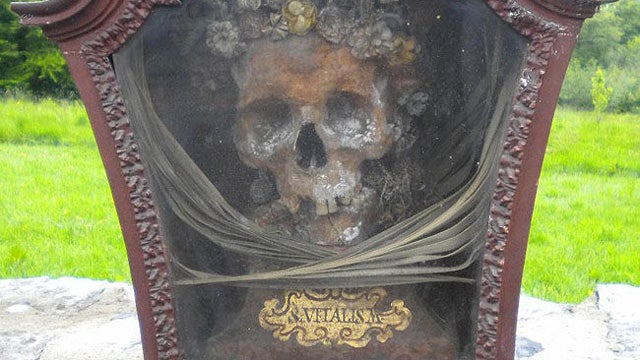 Severed Head of Genital Disease Patron Saint for Sale