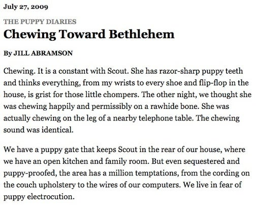 Toward Bethlehem with Joan Didion and Jill Abramson
