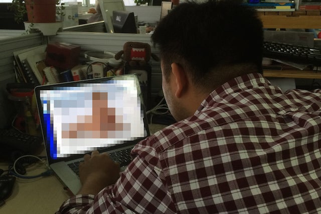 Chinese Porn Identification Officer is Sickened By Porn