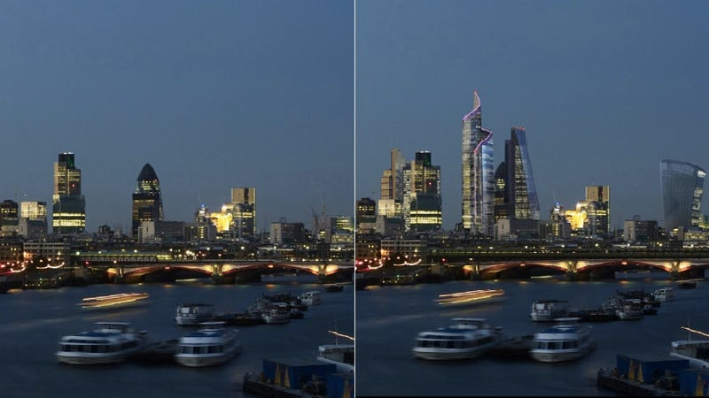 This is what London's skyline could look like in 20 years