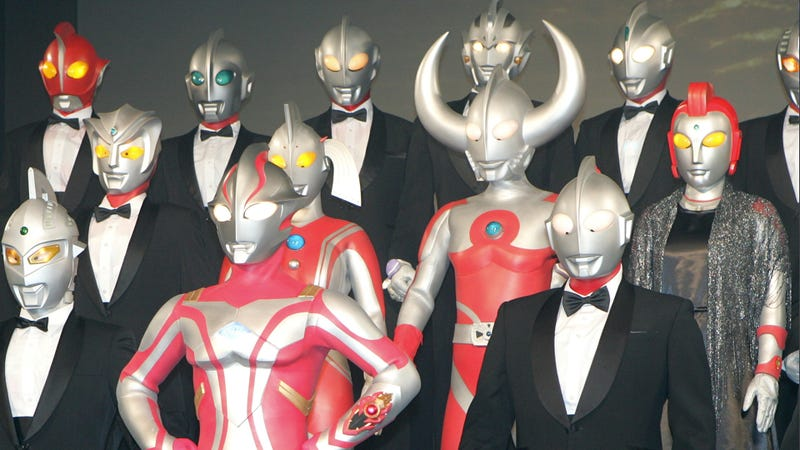 Ultraman Is a Fancy Dresser