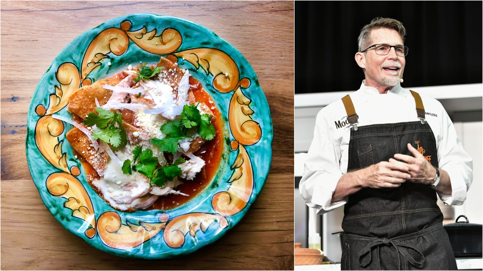 A chilaquiles private lesson with Rick Bayless - The Takeout
