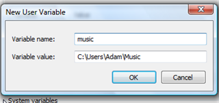 Create your own environment variables for quick folder navigation
