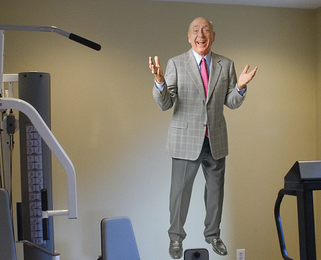There Has Been A Dick Vitale Fathead For Years