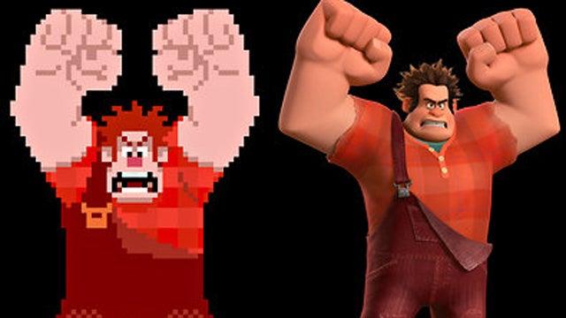 Wreck-It Ralph's 8-Bit Animation Was a Downshift Disney Had Trouble Making