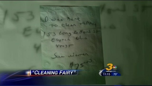 Rogue Cleaning Lady Breaks Into Homes at Night, Does Unsolicited Housework