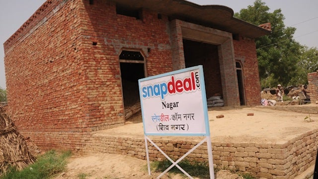 Really? A Village Renamed Itself Snapdeal.com?