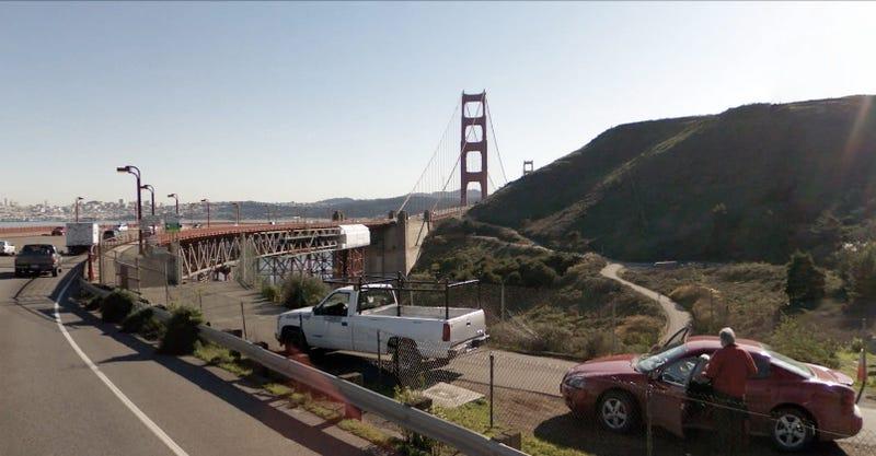 Google Street View Time-Lapse Video Of Driving On Golden Gate Bridge