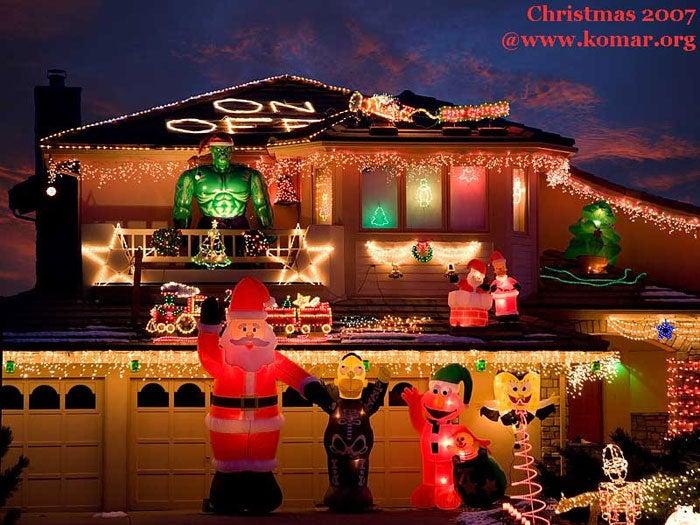 Web-Controllable Holiday Lights Setup is Christmas Spirit Overload