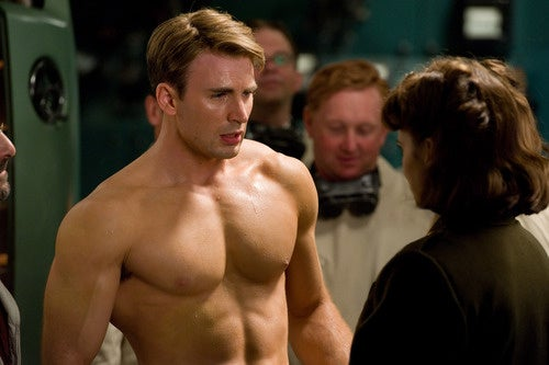 First Captain America hi-res pics