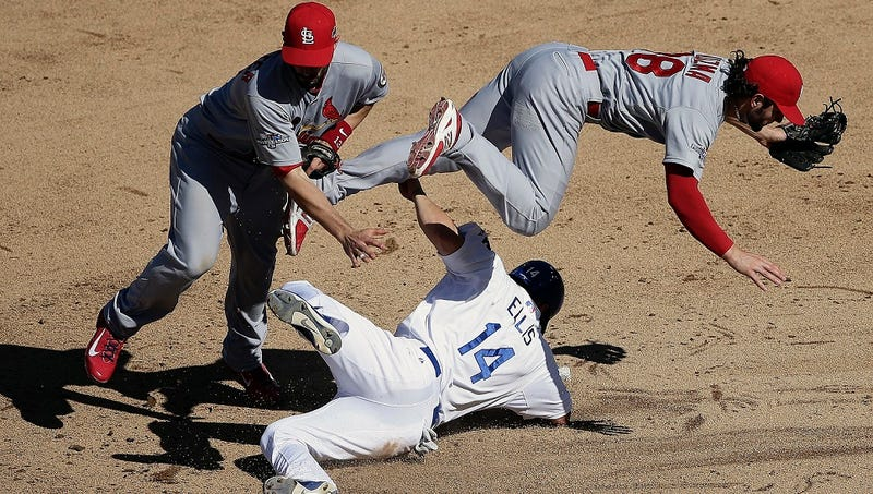 St. Louis Cardinals' March To World Series Crown Delayed Somewhat