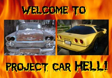 PCH, Tom Waits Edition: '58 Bel Air or Yellow Corvette?