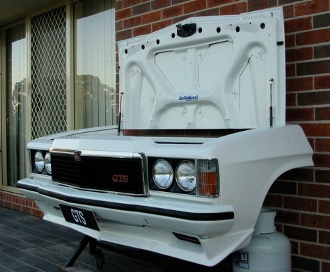 On the Barbie! Holden Monaro GTS Barbecue Grill