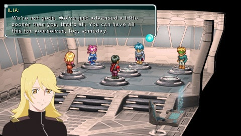 New Star Ocean: First Departure PSP Screens