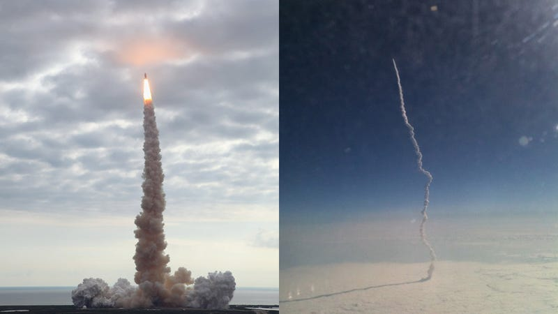 The two most amazing shots of the shuttle Endeavour