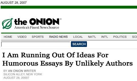 Peeling 'The Onion'