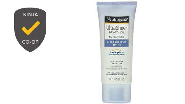 Most Popular Sunscreen:Neutrogena UltraSheer Dry-Touch