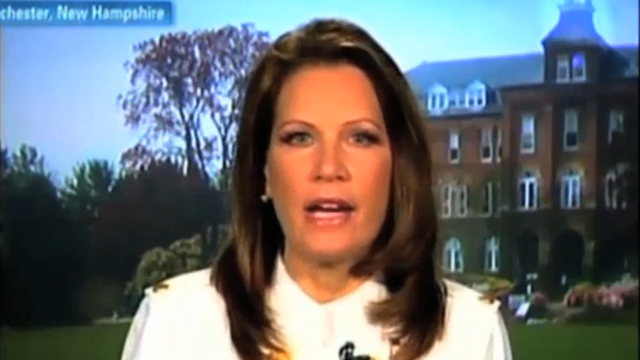 Michele Bachmann Conveniently Embraces Religious Tolerance