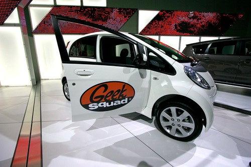 Mitsubishi iMiev Geek Squad Gallery