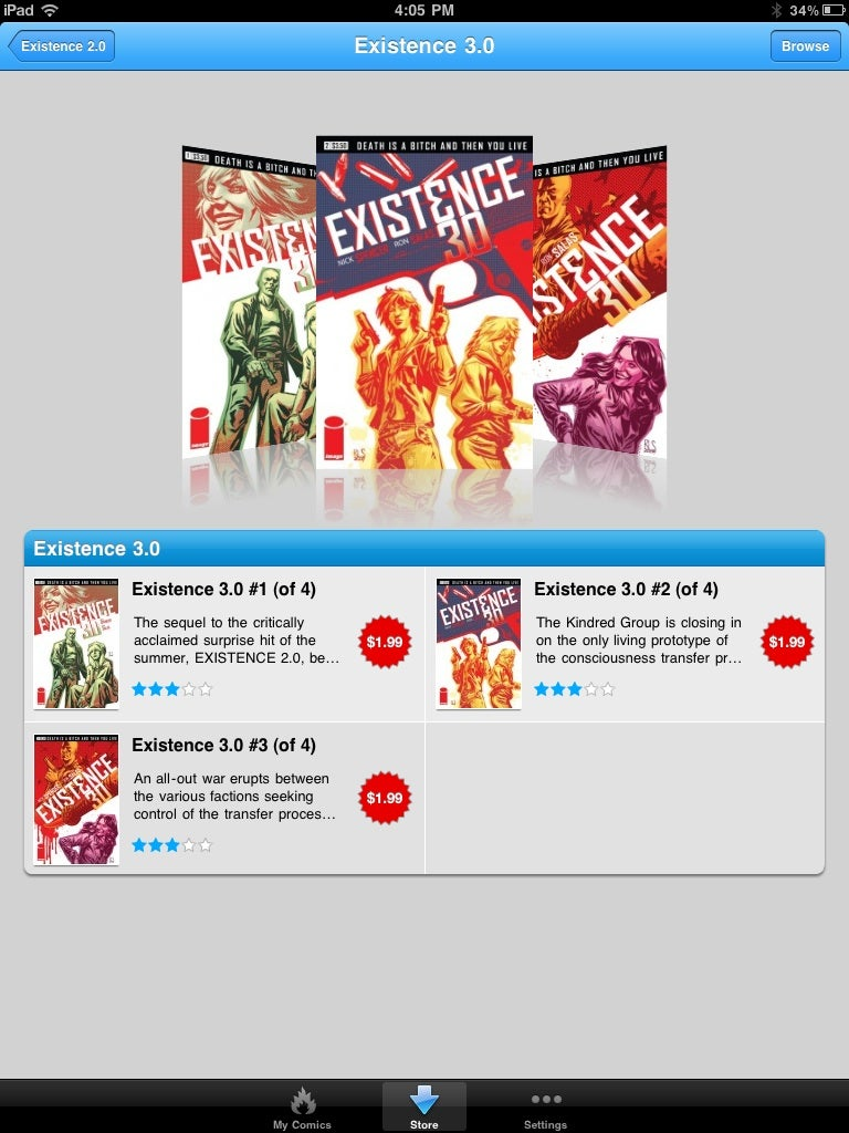 They're Selling Comics On The iPad The Wrong Way