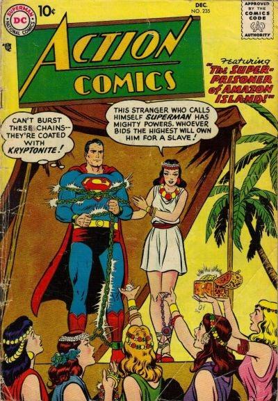Superman in Bondage: The Kinkiest Kryptonian Comics Covers Ever Published!
