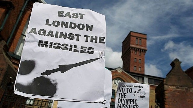 """Please Don't Shoot Missiles Off Our Roof,"" London Residents Ask Of British Military"