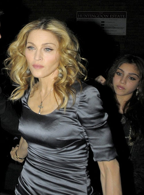 Madonna Throws A Crappy Party