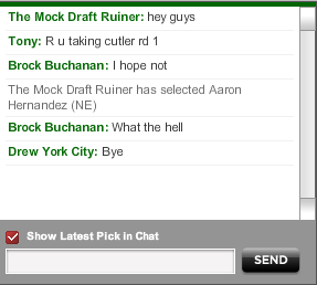 Guy Intentionally Screws Up Mock Drafts To Capture Reactions