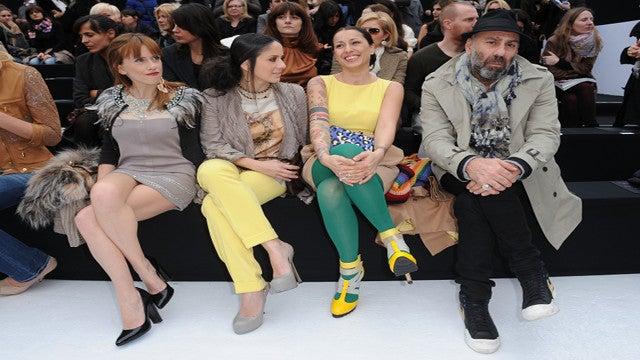 Viva Italia In Milan's Front Row