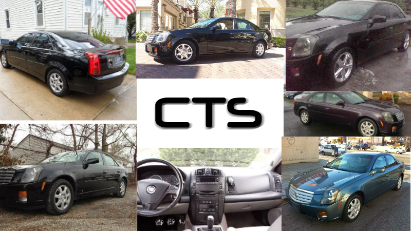 The Great Cadillac CTS V6 Manual Transmission Roundup
