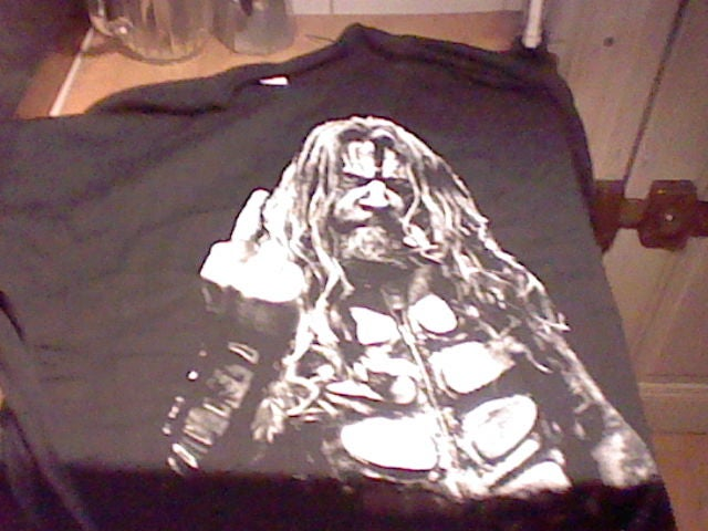 I Love How Direct The Rob Zombie T-Shirts Are On This Tour